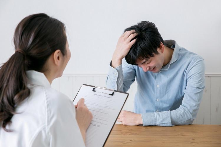 抜け毛が止まらないなら、まずは無料カウンセリングを受けてみたら?